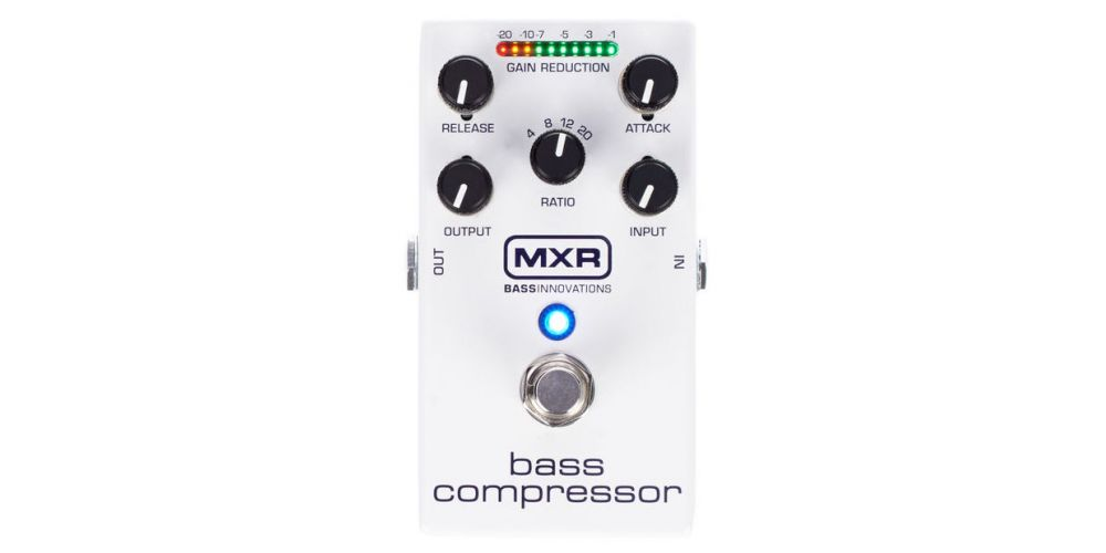 dunlop mxr m87 bass compressor front