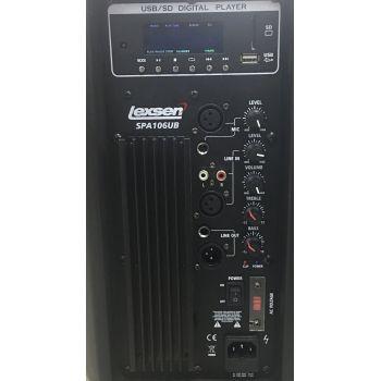 Lexsen SPA106UB Altavoz Amplificado 10