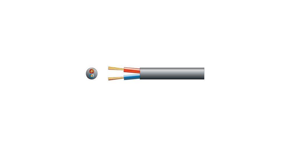 PD Connex Cable altavoz linea de 100V, 2 x 2.5mm, 25A, Negro, 100m 801879