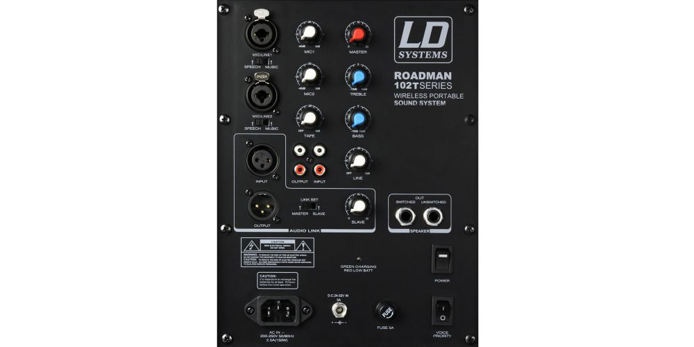 oferta altavoz portatil LDsystems RM102B6