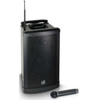 LD SYSTEMS Roadman 102 B6 Altavoz de PA portátil con Micrófono de Mano