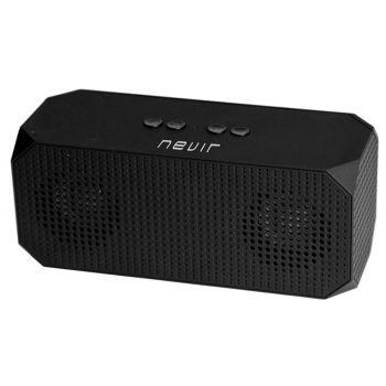 NEVIR 821B Altavoz Bluetooth Compacto Negro