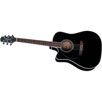 Takamine EF341 SC Guitarra Electo-Acustica para zurdos