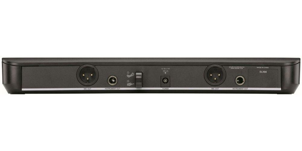 shure blx88e analog double receiver h8e 2