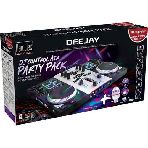 Comprar HERCULES DJ CONTROL AIR S PARTY PACKAGE