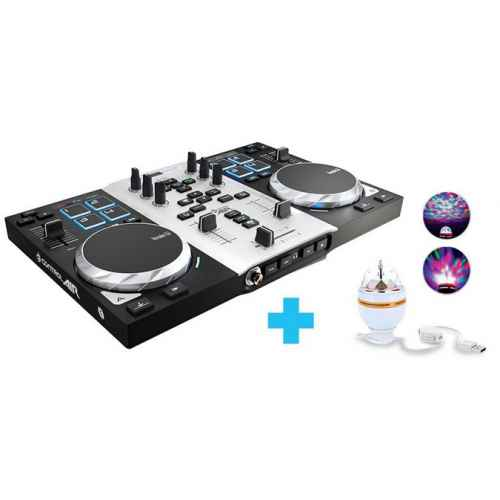 OFERTA HERCULES DJ CONTROL AIR S PARTY PACK FRONTAL