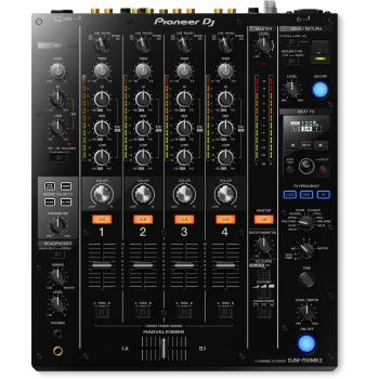 Pioneer Dj DJM-750MK2 NEGRO Mezclador 4 canales
