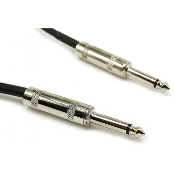 Audibax Bronze Cable Jack Mono a Jack Mono 1,5 Metros Black