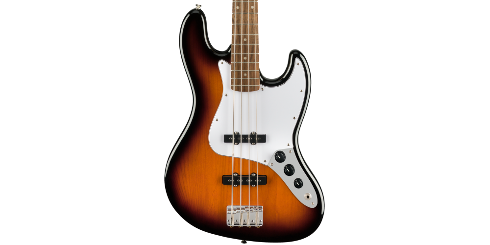 fender squier affinity jazz bass sunburst