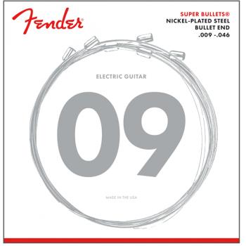 Fender Cuerdas Super Bullet Acabado Niquel 3250LR