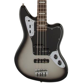 Fender Troy Sanders Jaguar Bass RW Silverburst