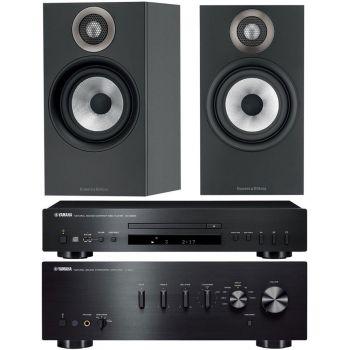 YAMAHA AS501BK+CDS300BK+BW606 Conjunto Audio