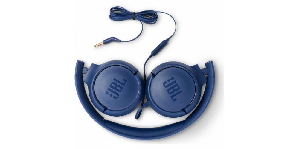 JBL Tune 500 Azul Auricular Onear auriculares plegables