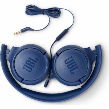 JBL T500 Azul Auricular On Ear HiFi Tune 500