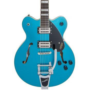 Gretsch G2622T Streamliner Center Block Double-Cut Bigsby LRL Riviera Blue Guitarra Eléctrica