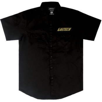 Gretsch Pro Series Workshirt Black Talla M