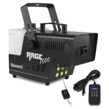 Beamz Rage 1000 LED Maquina de Humo de 1000W Con Control DMX 160712