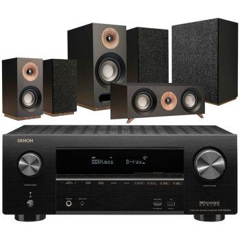 Denon Equipo AV AVR-X2600 +Jamo s803 HCS  Black+S808 Altavoces Home Cinema.