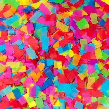 Beamz 160631 Confetti Multi Color 1Kg