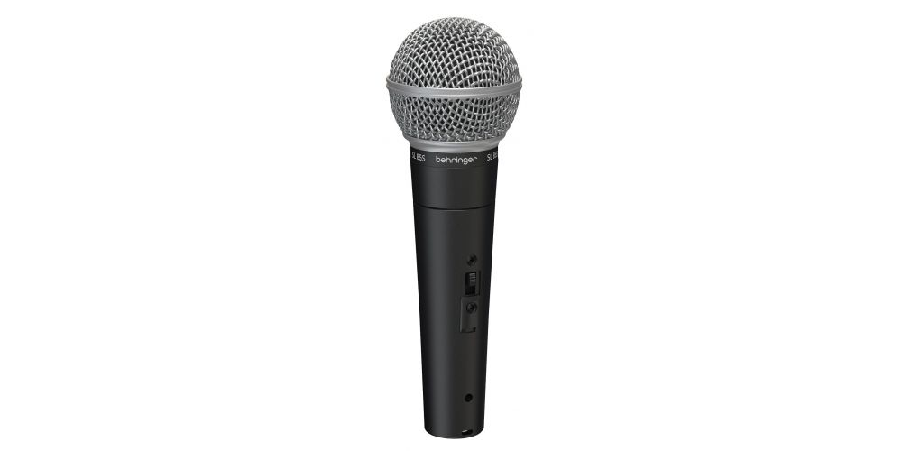 micrófono dinámico mano behringer sl85s