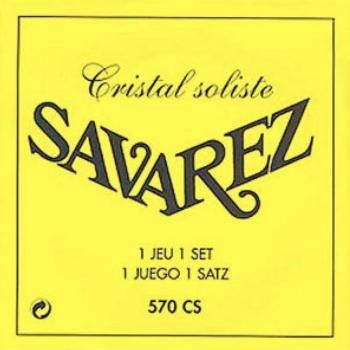 Savarez 570-CS Cristal Amarilla Solo Recital Cuerdas Guitarras Tensión Muy Fuerte