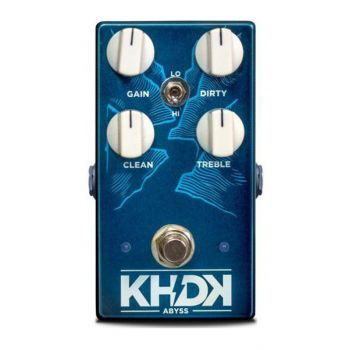 KHDK Byss Bass Pedal Overdrive Para Bajo