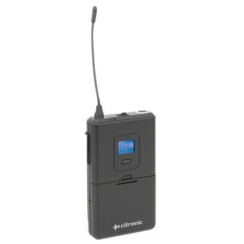 Citronic RUBP-PLL Transmisor de Petaca para Sistemas RU105 y RU210