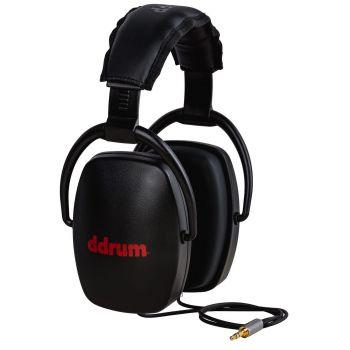 Ddrum STUDIO CLASS ISOLATION HEADPHONES BLACK Auriculares Dinámicos Cerrados DDSCH-BLK