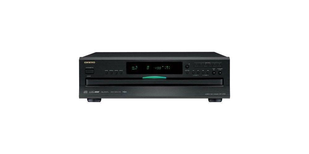 ONKYO DX-C390 B.Compact Disc Multiple, Negro