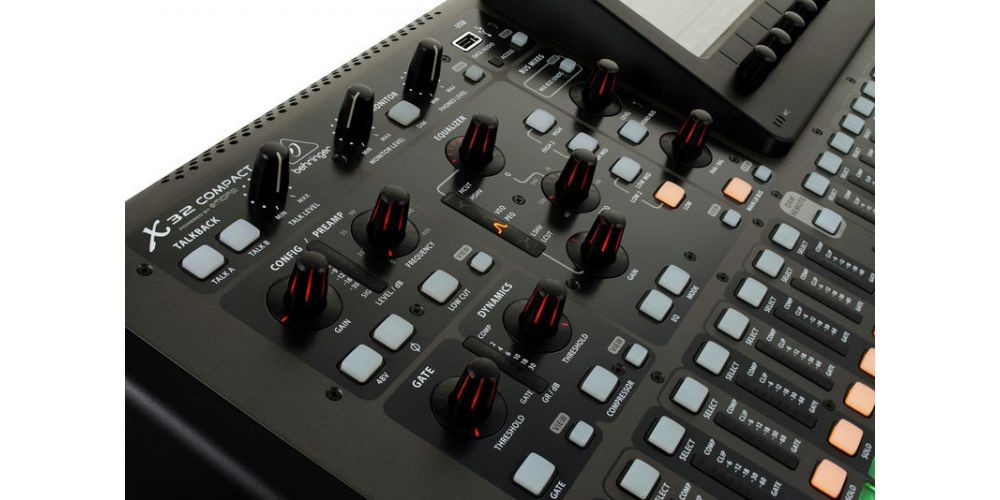 BEHRINGER X32 COMPACT CONTROLES