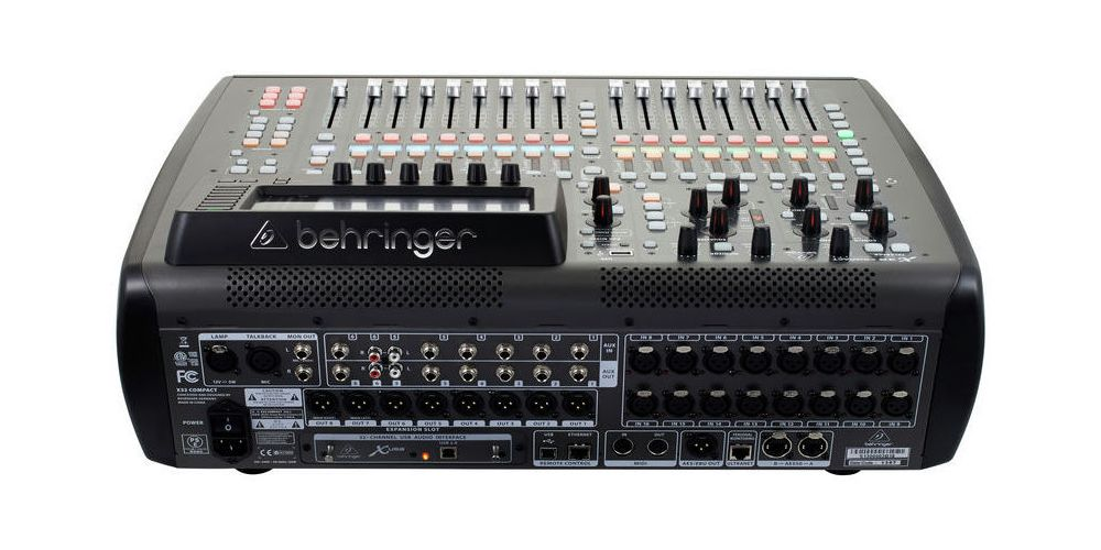 BEHRINGER X32 COMPACT REAR