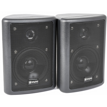 Vonyx 100015 Conjunto de Altavoces Stereo HiFi Negro 75W By-Skytec
