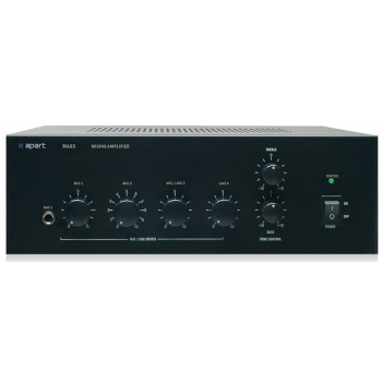 Apart Biamp MA 65 Amplificador 65W con Mezclador de Micrófonos / Linea