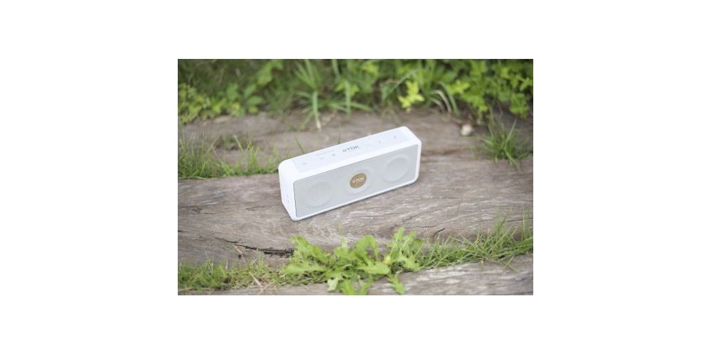 TDK A33 WH Altavoz Bluetooth Intemperie Blanco
