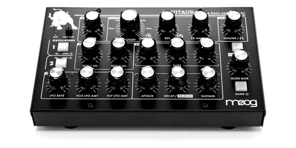 moog minitaur sintetizador