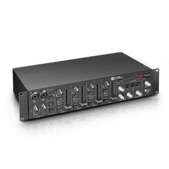 """LD SYSTEMS  ZONE 423 Mezclador de 2 zonas, formato 19"""" 2 U"""