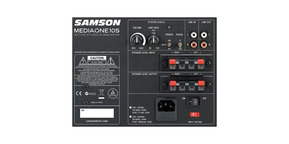 SAMSON MEDIAONE 10S Subwoofre Actiovo