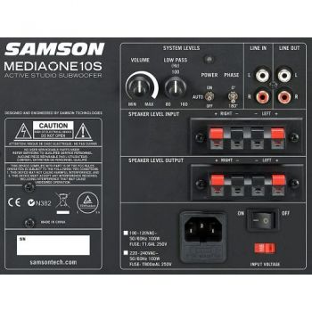 SAMSON MEDIAONE 10S Subwoofre Actiovo