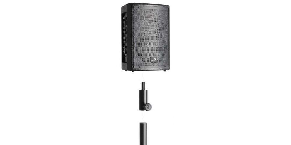 LD SYSTEMS LDMIX6G2SET1 Adaptador reductor de 36 mm Pareja