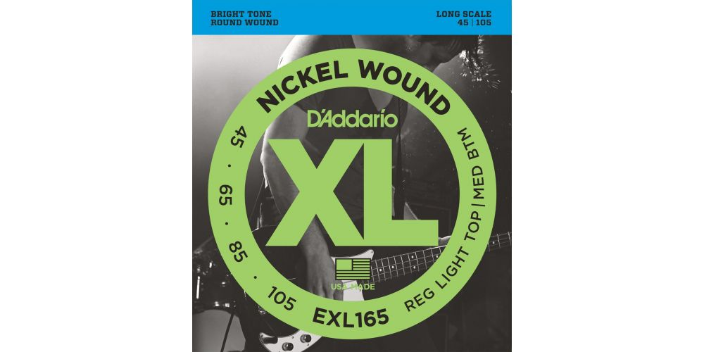 D Addario EXL-165 (045-105)