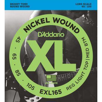 D Addario EXL-165 (045-105) Cuerdas Bajo Eléctrico