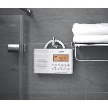 SANGEAN H201 WH Radio Digital para Ducha