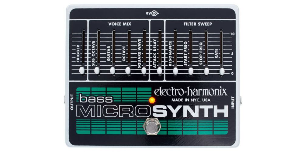 electro harmonix xo bass microsynth 2