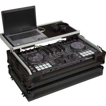 Walkasse WMC-PRO8BK Flight case para controlador Dj