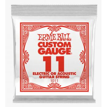 Ernie Ball 1011 Slinky Plana Cuerda Para Guitarra Electrica  0.11