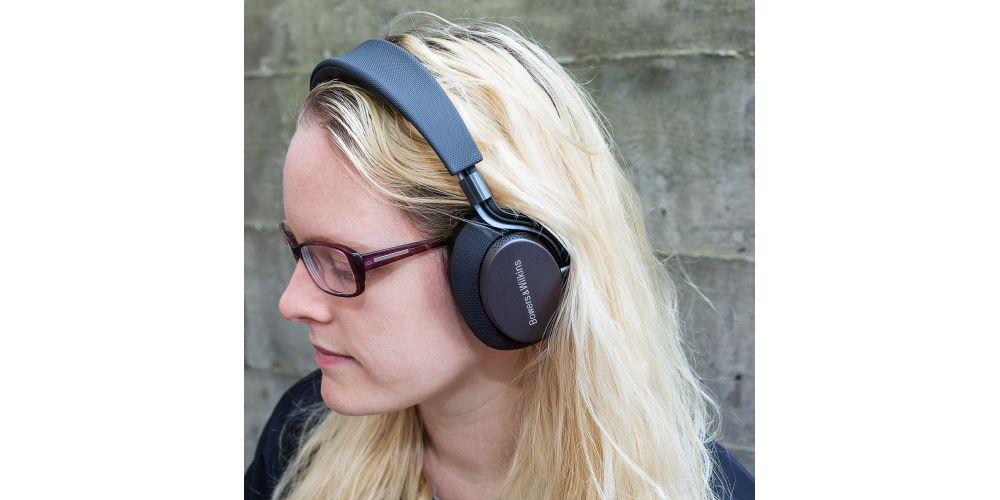 BW PX bluetooth cancelacion ruido black auricular