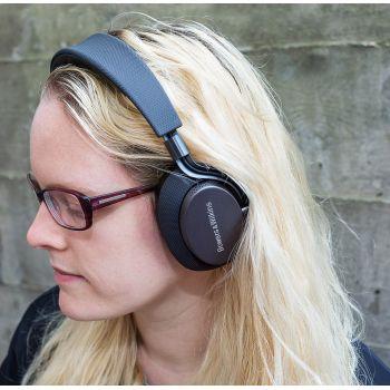 BW PX Black  Auricular Bluetooth Cancelacion Ruido