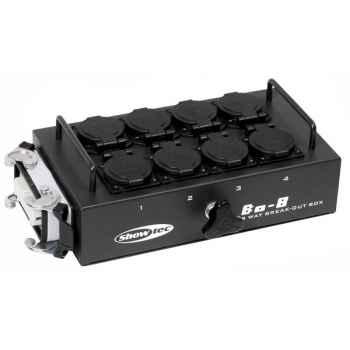 Showtec BO-8-S1 Caja de Conexiones 50281