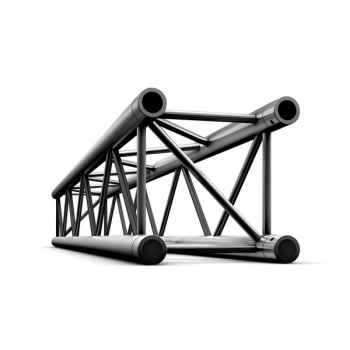 Showtec Straight 1000mm Tramo Cuadrado Recto Negro para Truss GQ30100B