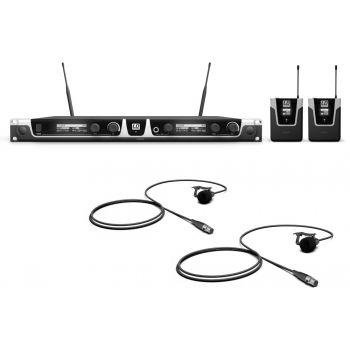 LD SYTEMS U508 BPL2 Sistema inalámbrico con 2 x Petaca y 2 x Micrófono Lavalier